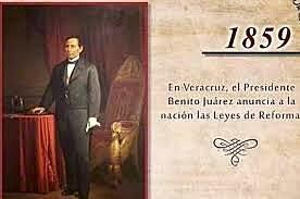 Leyes de Reforma (1859-1860)