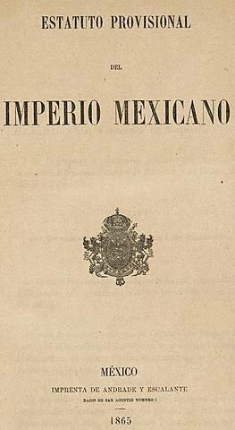Estatuto Provisional del Imperio Mexicano