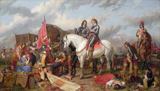 Revolución Puritana (guerra civil) en Inglaterra.