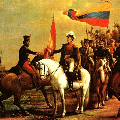 Historia de Colombia. timeline
