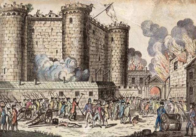 the storming of bastille