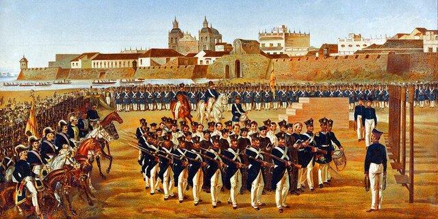 Reconquista de la Nueva Granada.