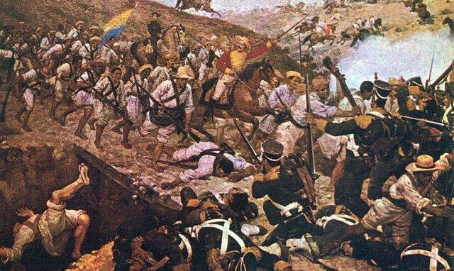 Batalla de Boyacá, es proclamada la Republica de Colombia