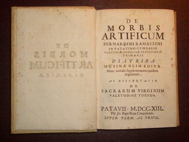 Bernardino Ramazzini - Publica De morbis artificum diatriba