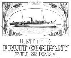 Se establece la United Fruit Company.
