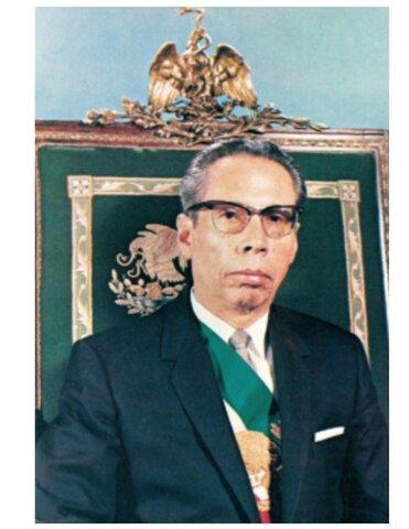 DEC 1, 1964 Díaz Ordaz asume la presidencia de México.