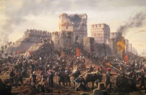 Els turcs conquereixen constantinopla