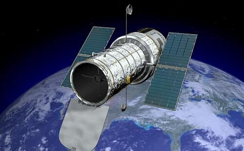 Llançament del telescopi espacial Hubble