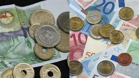 Cambio de la peseta al euro