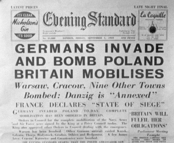 II Maailmasõja algus