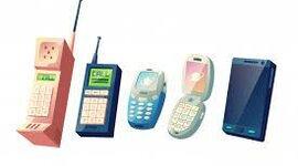 LOS TELEFONOS MOVILES timeline