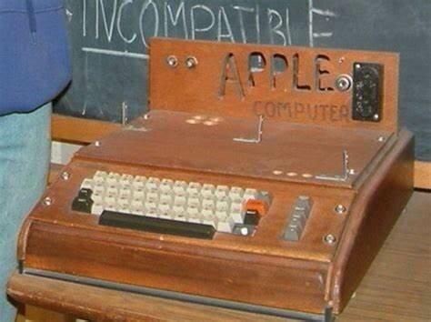 La primera computadora de Apple