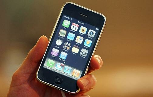 La primera versión del iPhone