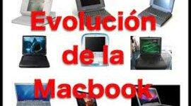 la epolucion de MacBook timeline