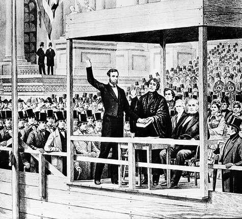 President Lincoln suspends habeas corpus