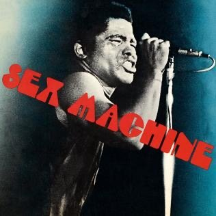 """James Brown records """"Sex Machines"""" and """"Funky Drummer."""" Both songs would later influence percussion in hip hop"""