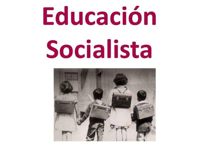 Educación Socialista