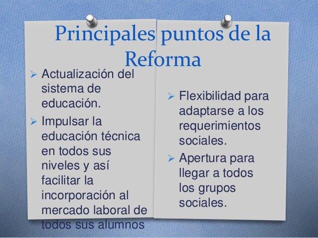 Reforma de la Educativa, Sexenio de Luis Echeverría