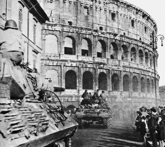 Roma es alliberada