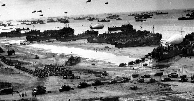 Operació Overlord, va ser el desembarcament a Normandia, el día D l'hora H
