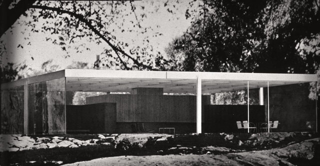 Casa 50 x 50 por Mies Van der Rohe.