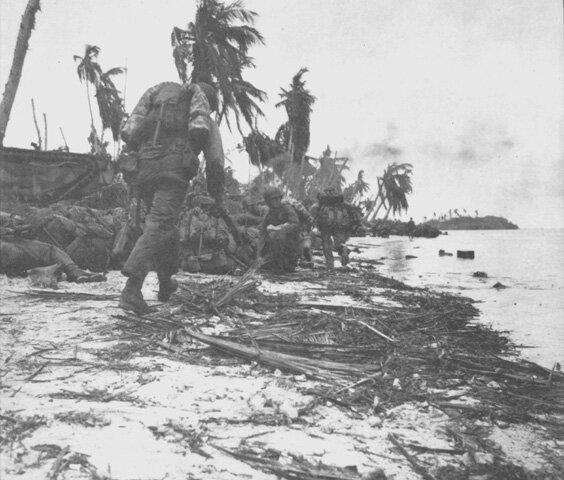la batalla de Guam