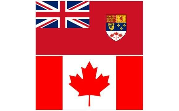 New Canadian National Flag.