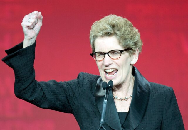 Kathleen Wynne: First Female Premier of Ontario.