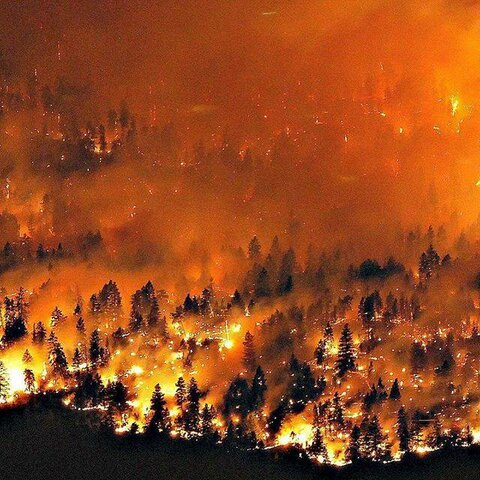 British Columbia Wildfires.