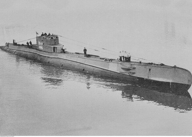Allveelaev Orzeli põgenemine