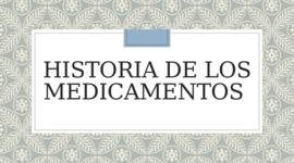 Antecedentes y desarrollo de la farmacia timeline