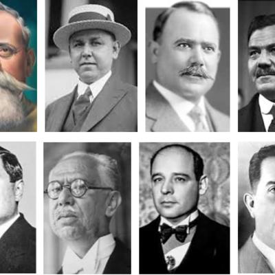 Gobiernos posrevolucionarios   Jahaziel Bautista Martínez 404 timeline