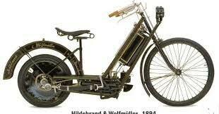 Biciclos equipados con motor