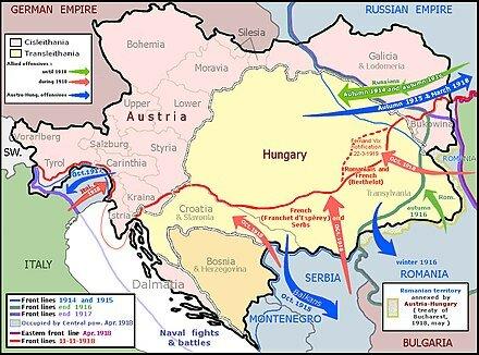 RÚSSIA DECLARAR LA GUERRA A L'IMPERI AUSTRO-HUNGAR