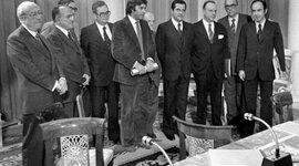 El proceso de transición a la democracia y la Constitución de 1978 timeline