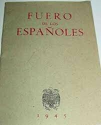 Promulgación del Fuero de los Españoles