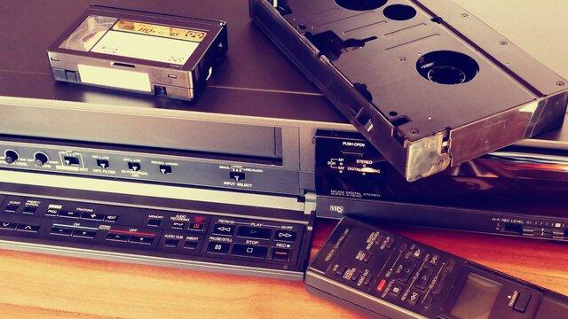 Aparición del VHS