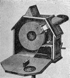Invención del kinematiscopio