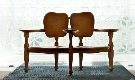 Banco y silla Batlló