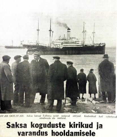 Baltisakslaste ümberasustamine (Umsiedlung)