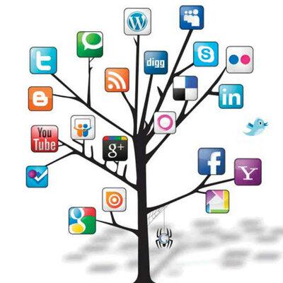 Las tecnología de la información y comunicación  timeline