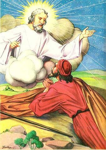 Abraham es llamado por Dios