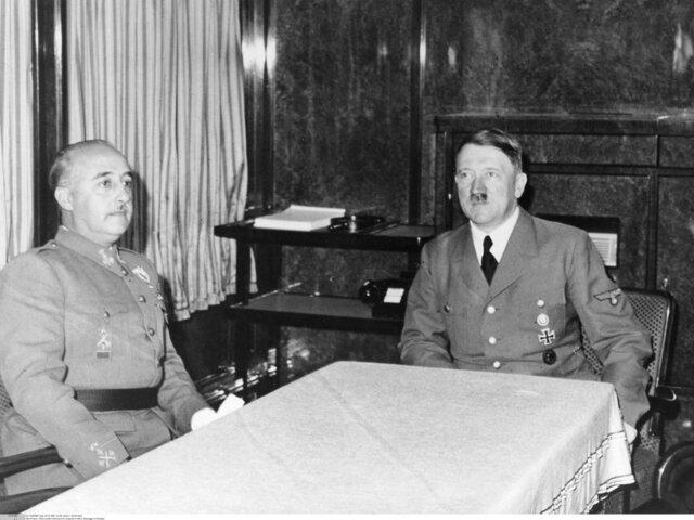 Entrevista Franco-Hitler en Hendaya.