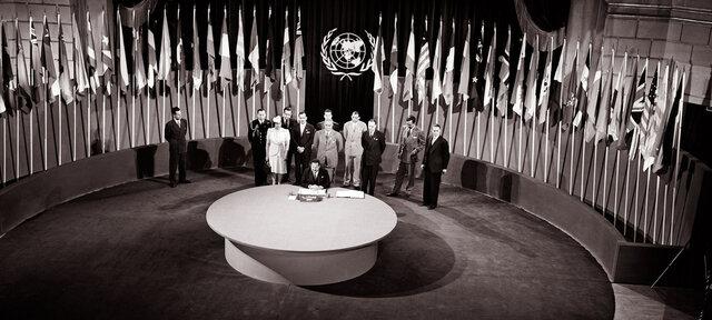No admisión de España en la ONU
