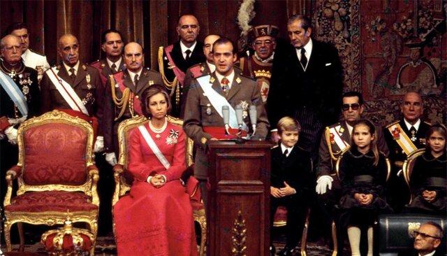 Proclamación como Rey de España de Juan Carlos I