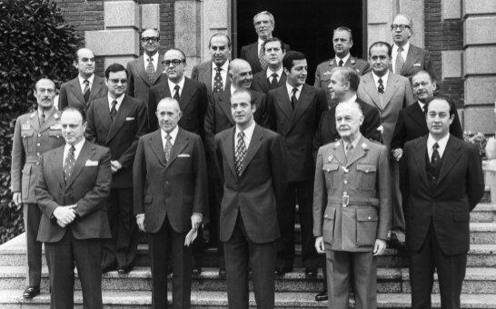 Ratificación de Arias Navarro como presidente del gobierno