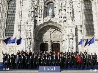 Firma del Tratado de Lisboa