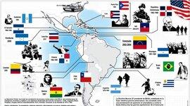 INTERVENCION DE ESTADOS UNIDOS EN LATINOAMERICA (XIX - XX) timeline