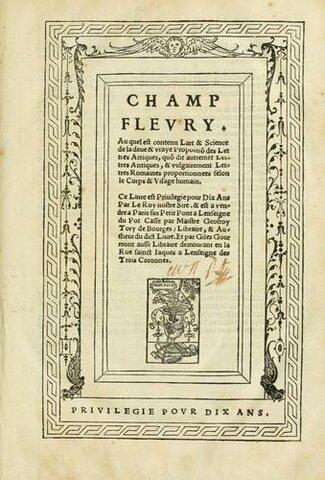 Tory's Champ Fleury