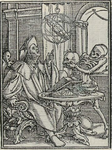 """Hans Holbein's """"Imagines Mortis"""""""